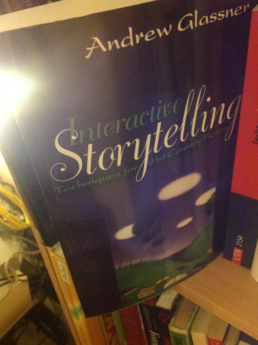 Interactive Storytelling book cover
