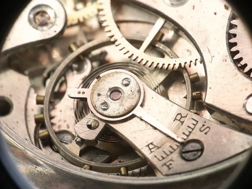 Time Machine Clockwork by Pierre J.