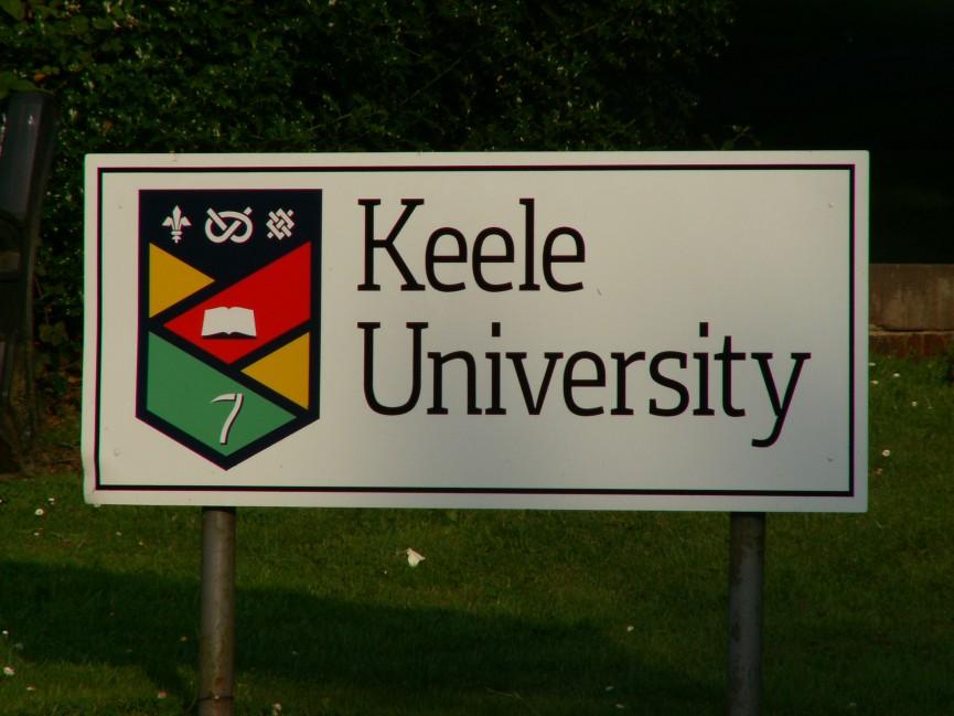 Schild Keele University