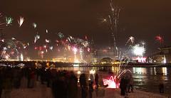 Feuerwerk mit Masse