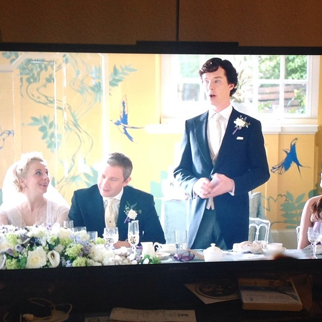 Greatest Best man ever... #sherlock - via Instagram