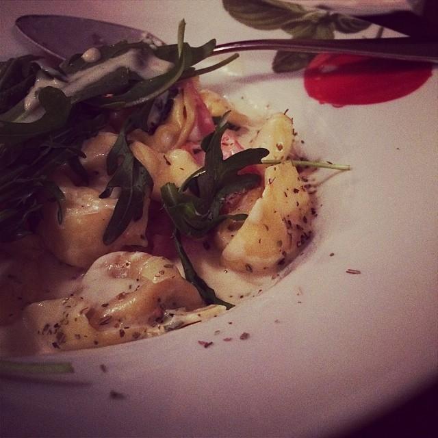 Lecker Essen beim Italiener... :-) - via Instagram