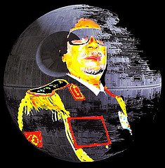 gaddafi death star