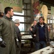 Godzilla 2014 - on Set