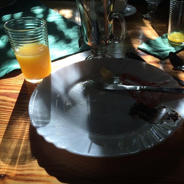 Das Ende vom Klosterfrühstück... #moinmoin - via Instagram