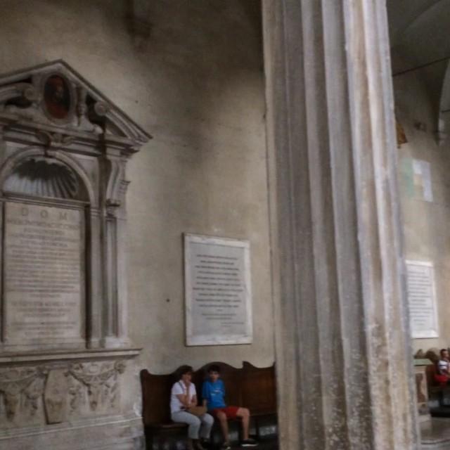 Und heute auch aus #rome : Kirchenimpressionen, weiß jetzt leider nicht mehr welche - via Instagram