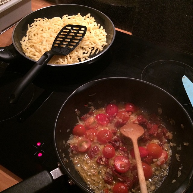 Kocht noch... :) - via Instagram
