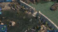 Der Damm ist kaputt, die Anlage überflutet