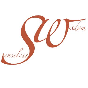 Senseless Wisdom Logo weiss