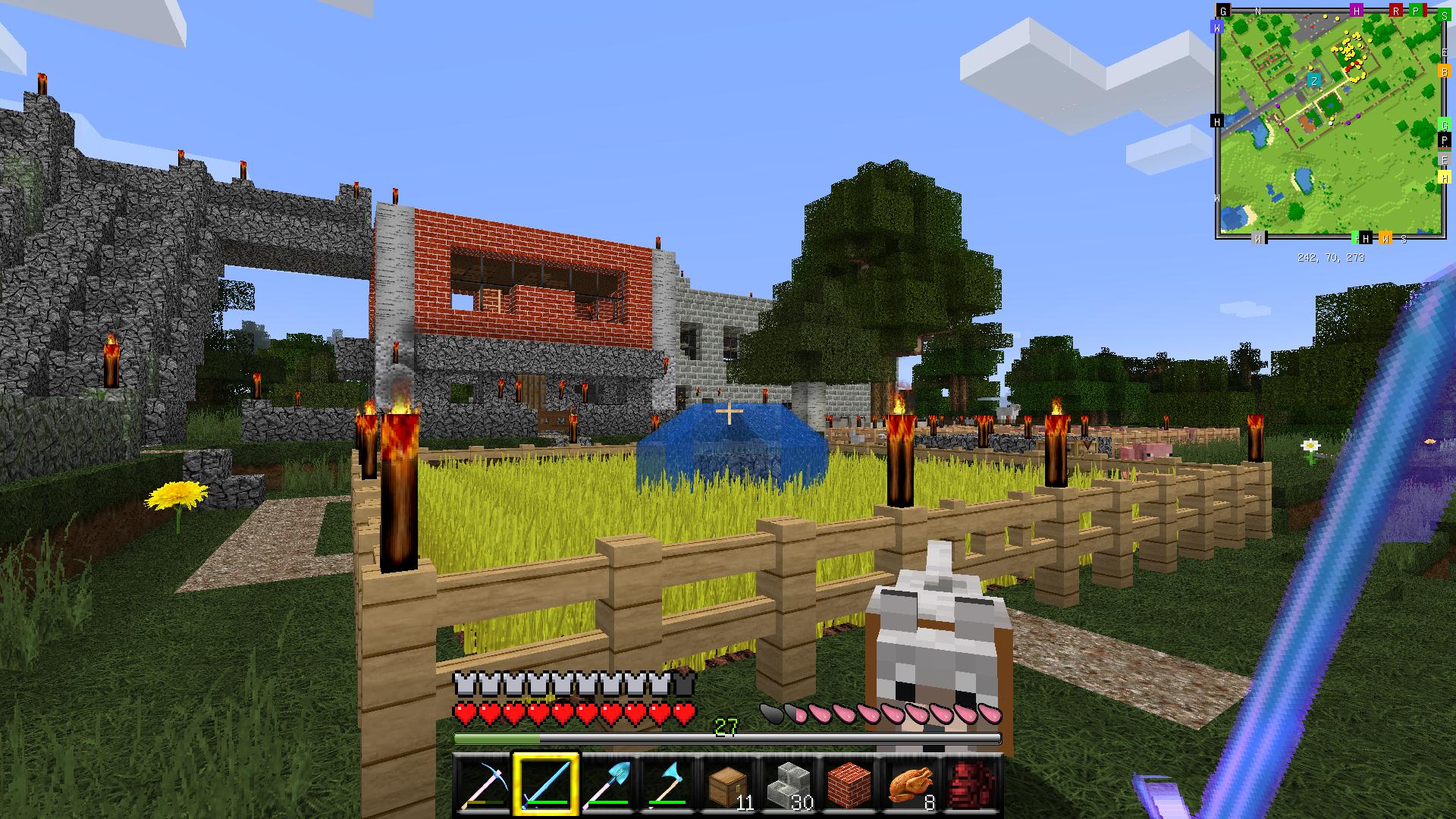 Minecraft diamanten farm