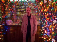 Michael Keaton Christmas lights - Birdman