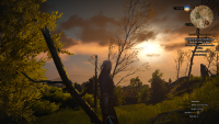Witcher 3 - Sonnenuntergang