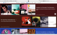 iTunes Screenshot - redaktionelle Playlisten