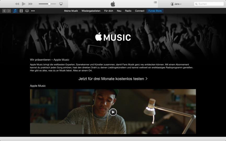 iTunes Screenshot - Apple Music