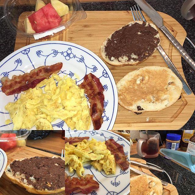 Geiles Frühstück #foodporn - via Instagram