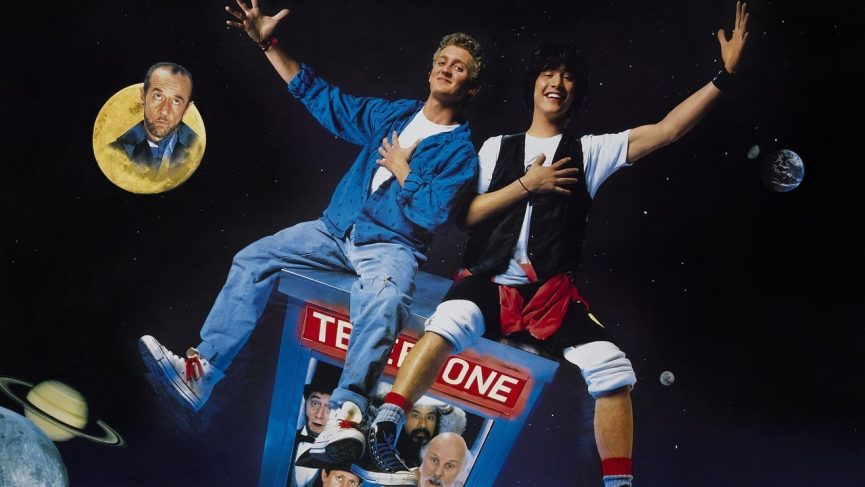 Bill & Ted Excellent Adventure Title