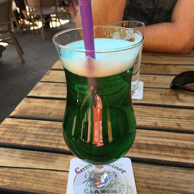 Berliner Weiße beim Italiener #Prost #foodporn - via Instagram