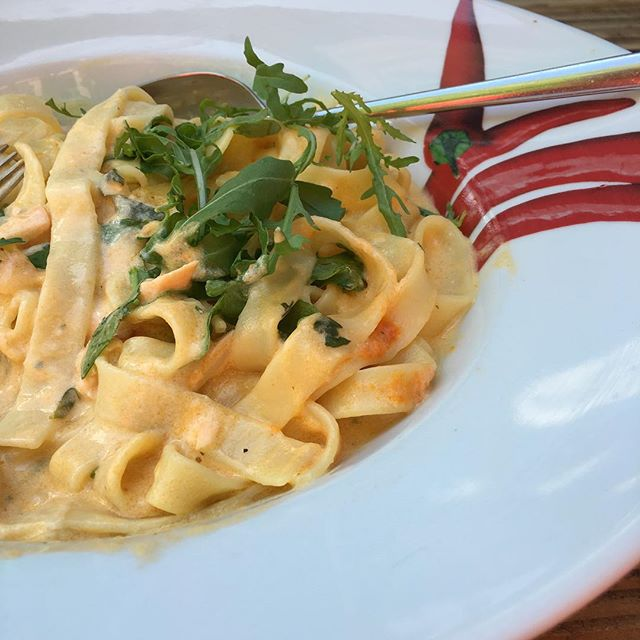 Pasta zum Lunch <a href='https://www.senselesswisdom.net/tag/foodporn/' rel='tag'>#foodporn</a> - via Instagram