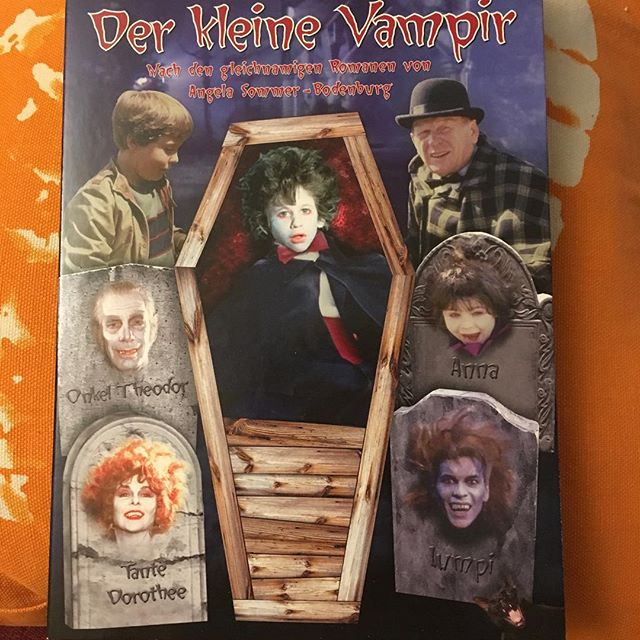 The only real way to celebrate Halloween imho #thelittlevampire - via Instagram