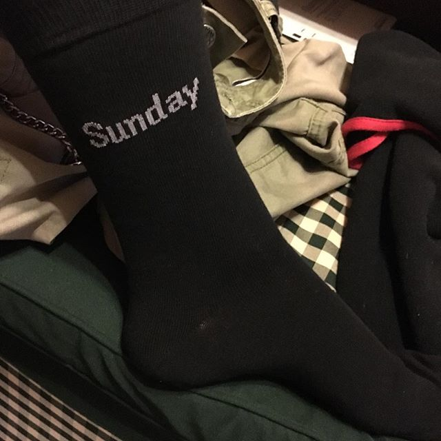 How to label socks for men - via Instagram