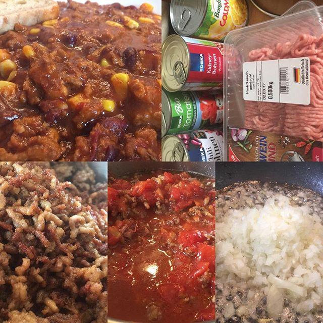 Lecker Chili con Carne mit ganz viel Carne  <a rel=