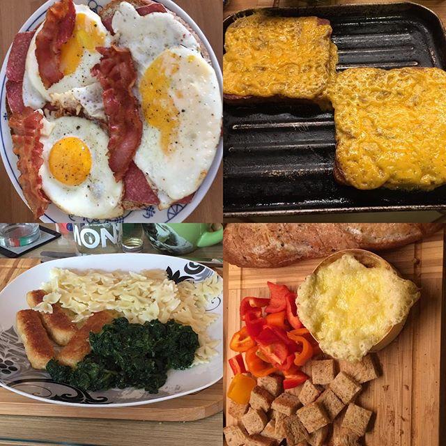 Futter-Collage der letzten Woche #lazy #foodporn - via Instagram