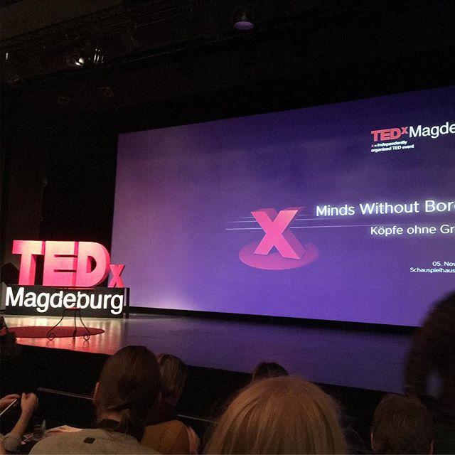 Hoffe auf Inspirierendes am Sonntag #tedxmagdeburg - via Instagram