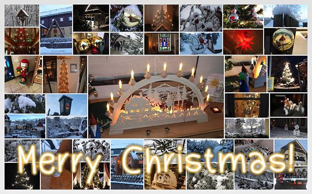 Frohe Weihnachten Euch allen! - via Instagram