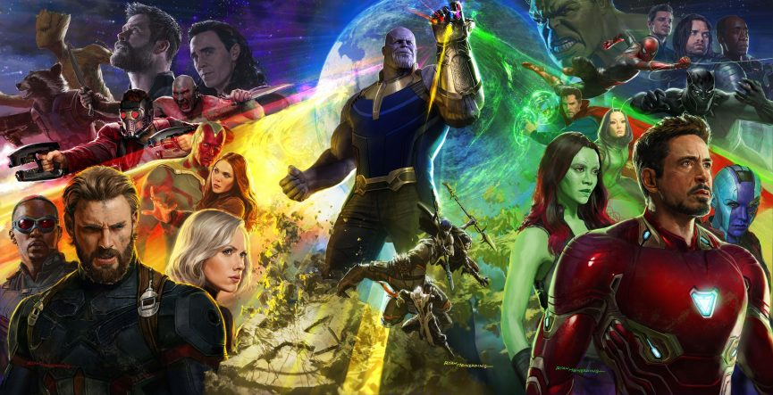 Avengers: Infinity War Production Art