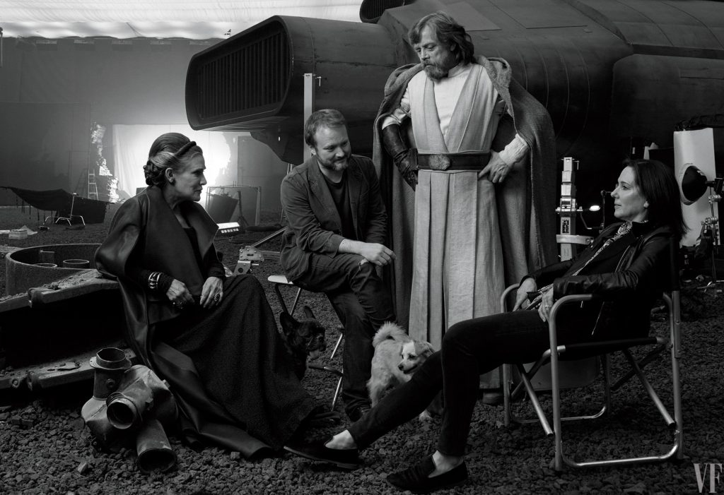 Star Wars The Last Jedi backstage