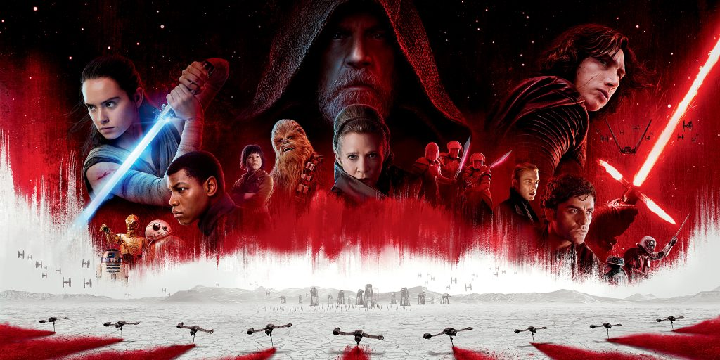 Star Wars The Last Jedi (2017) Promo Art