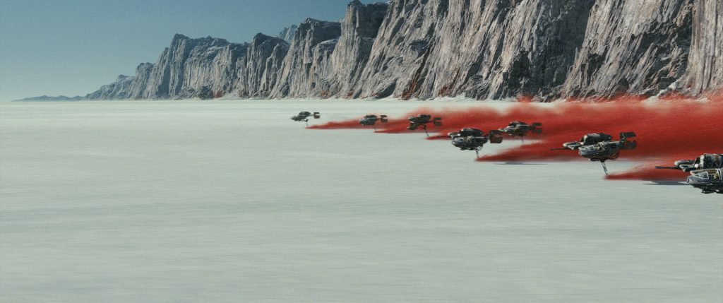 Star Wars: The Last Jedi The Planet Crait