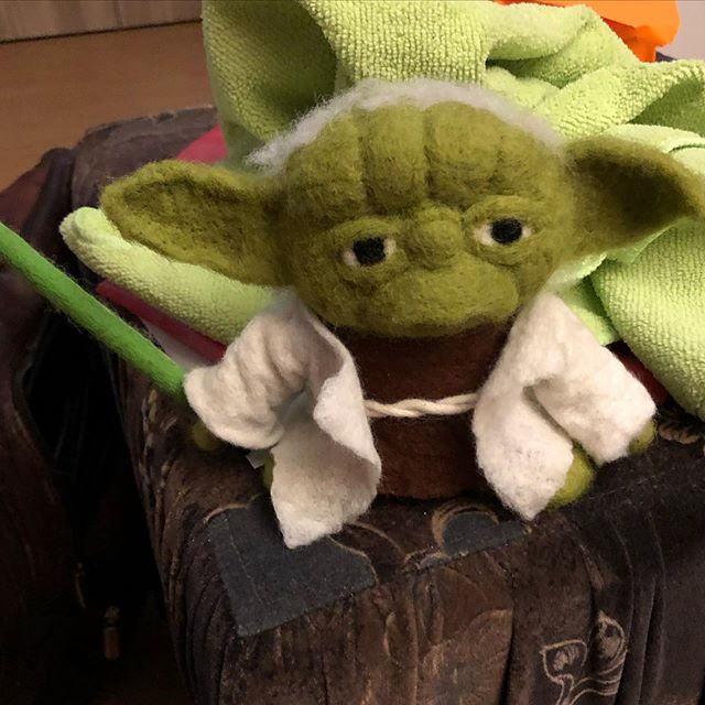 #Filz #Yoda von @kinasayuri - via Instagram