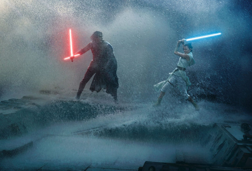 Star Wars Rise of Skywalker Promo Lightsaber Fight